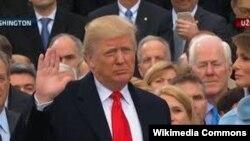 Donald Trump,20 yanvar 2017