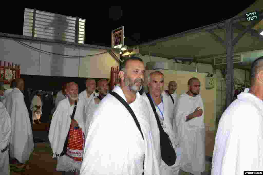 Saudi/Tajikistan -- Tajik piligrims im Mecca, 11Sep2016