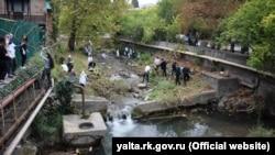 Экологическая акция в Ялте