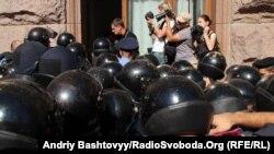 Протистояння між протестувальниками і силовиками у Києві тривало з листопада 2013 по лютий 2014