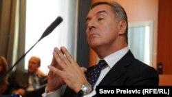 """Milo Đukanović na saslušanju zbog afere """"Telekom"""", ilustrativna fotografija"""