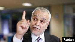Ирактық саясаткер Тарик әл-Хашеми. Стамбул, 16 маусым 2014 жыл