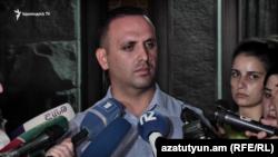 Գագիկ Խաչատրյանի փաստաբան Երեմ Սարգսյան, 27-ը օգոստոսի, 2019 թ.