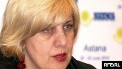 Представитель ОБСЕ по вопросам свободы СМИ Дуня Миятович.