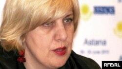 Дуня Миятович, комиссар ОБСЕ по вопросам свободы прессы.