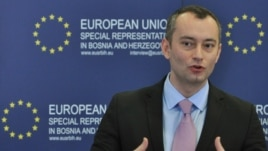 Nickolay Mladenov in 2011, when he was Bulgaria's foreign minister