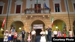 Италиянең Имола шәһәрендә фольклор фестивале