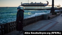 Набережная Ялты, архивное фото