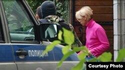 Обыски полиции в доме Елизаветы Богуцкой, 8 сентября 2014 года
