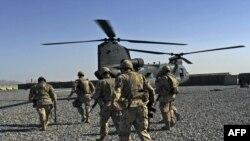 Американские солдаты в Афганистане, Кандагар, 14 мая 2010 г