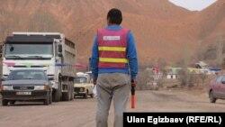 Қырғызстанда жүрген қытай жұмысшылары.