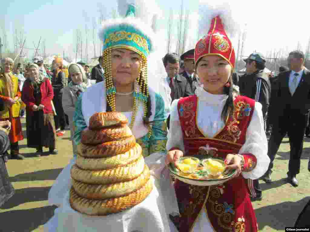 Celebrating Norouz in Karasu, Kyrgyzstan