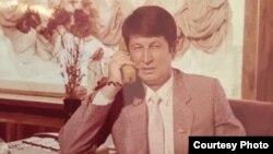 Самандар Куканов в бытность депутатом парламента Узбекистана.