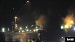 "Пожар на АПЛ ""Екатеринбург"", 29 декабря 2011"