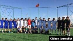 Москвадагы мигранттардын эсебинен ачылган спорт аянтчасы