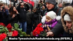 Открытие памятного знака в честь Небесной сотни в Одессе