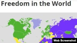 Судя по рейтингам Freedom House, для государств бывшего СССР характерна образцовая стагнация