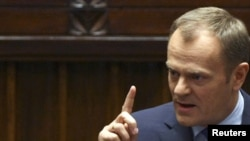 Polish Prime Minister Donald Tusk (file photo)