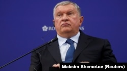 Rosneft chief Igor Sechin says lower prices will knock U.S. shale producers offline.