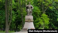 Пам'яник гетьману Івану Мазепі в Полтаві