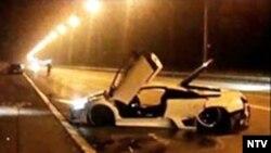 """Тото самый злополучный """"Ламборгини"""", 23 ноября 2009 года"""