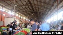 Bakı, ərzaq bazarı