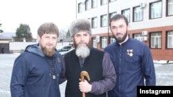 Рамзан Кадыров, Салах Межиев и Магомед Даудов