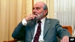 George Blake szovjet ügynök Moszkvában, 2006. november 15-én.