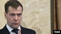 Медведев на заседании ФСБ 25.01.2011