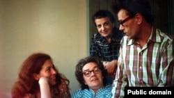 Слева направо: Юлия Вишневская, Людмила Алексеева, Дина Каминская, Кронид Любарский