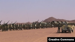 Войска «Фронта Полисарио» в Западной Сахаре. Иллюстративное фото
