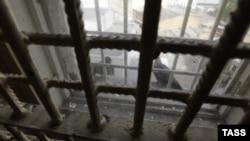 """Вид из окна одного из московских следственных изоляторов """"Матросская тишина"""""""