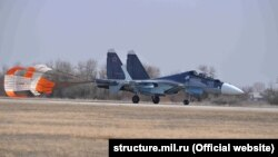 Архивное фото: морская авиация Черноморского флота России в Крыму