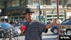 Жонглер на Монтмартрі