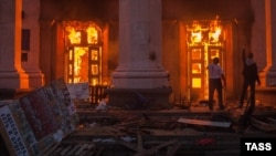 The film pays particular attention to the events of May 2, 2014, when 48 pro-Russia protesters were killed in a fire at the Soviet-era Trade Unions building in Odesa.
