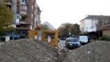 Barikade kod mosta u Mitrovici, 31. oktobar, foto: Jasmina Šćekić