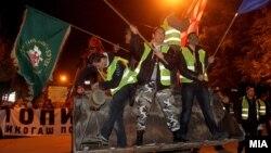 Од последниот протест против рестартирањето на Топилницата во Велес.