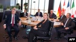 Учасники зустрічі «Групи семи» у Любеку