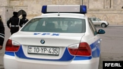 Traffic police in Azerbaijan
