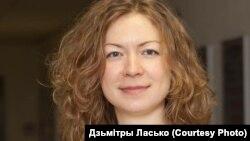 Журналістка Вольга Шастакова, фота -- Дзьмітры Ласько.