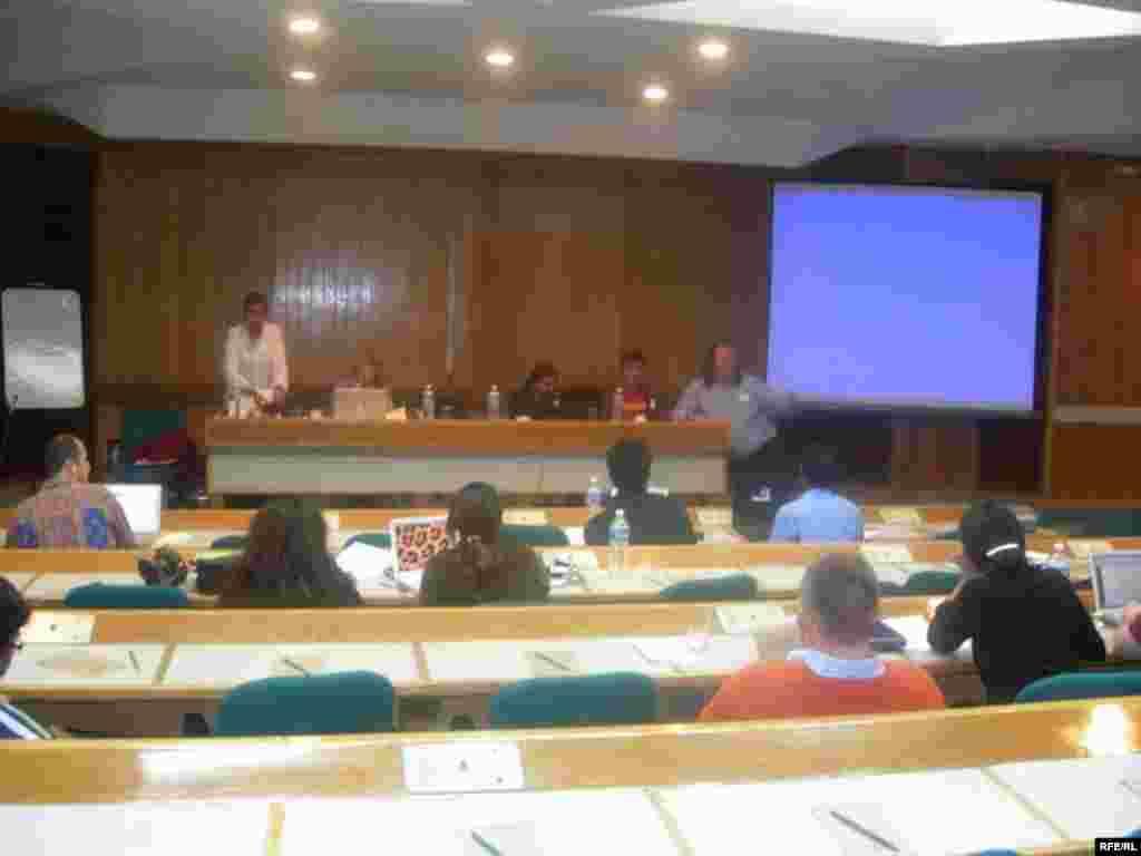 کنفرانس با حضور چهل وبلاگ نویس از سراسر جهان خبرنگاران هندی و پزوهشگرانی از هاروارد اوپن سورس و برکلی برگزار شد