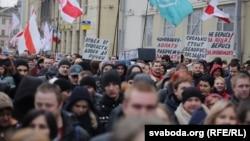 «Марш недармаедаў» у Менску