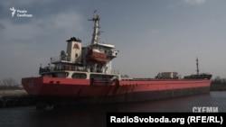 Заарештоване турецьке судно Kanton
