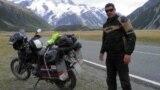 Истван в Кыргызстане: уникальный глухонемой мотоциклист 10 лет ездит вокруг света