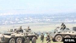 Грузия НАТО менен биргелешкен аскерий машыгууларды өткөрүп турат. Акыркысы 2009-жылы май айында болду.