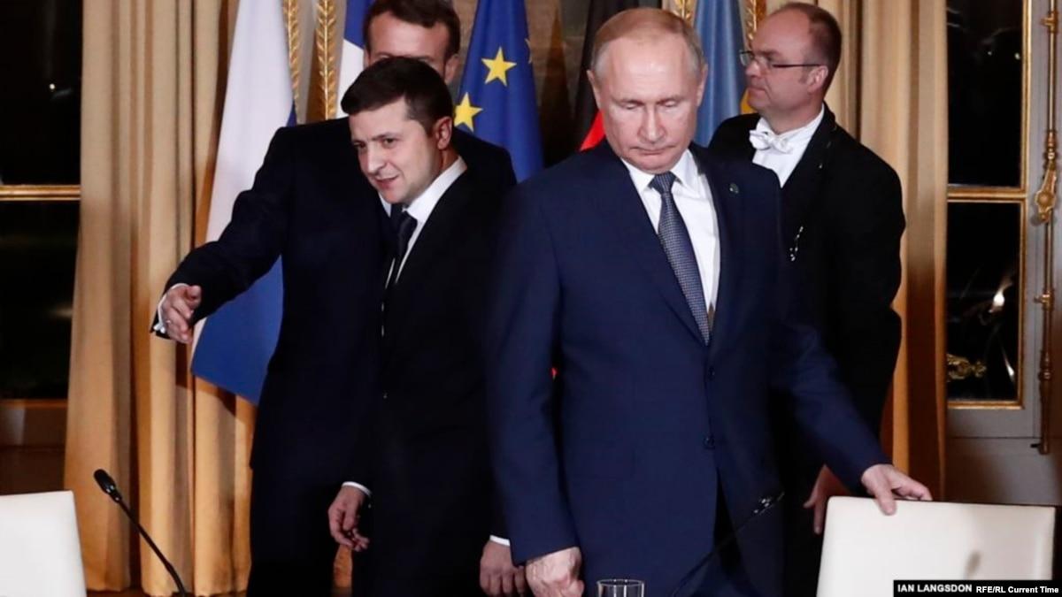 Началась встреча Зеленского и Путина тет-а-тет