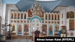 Свято-Воскресенский собор в Бишкеке, 5 января 2012
