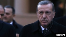 Премьер-министр Турции Реджеп Эрдоган. Анкара, 18 декабря 2013 года.