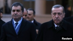 Turkish Prime Minister Recep Tayyip Erdogan (right) has had a trying year.