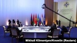 Саммит ОДКБ в Астане. 8 ноября 2018 года.